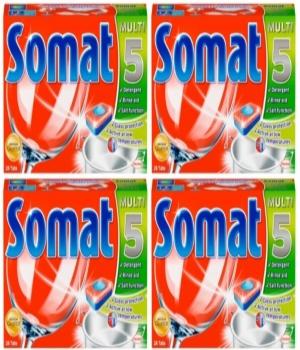 Bán viên rửa bát Somat 5 in 1chuyên dùng cho máy rửa bát cao cấp