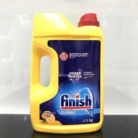 Bán bột rửa chén finish 2,5kg chính hãng, giao hàng tận nơi